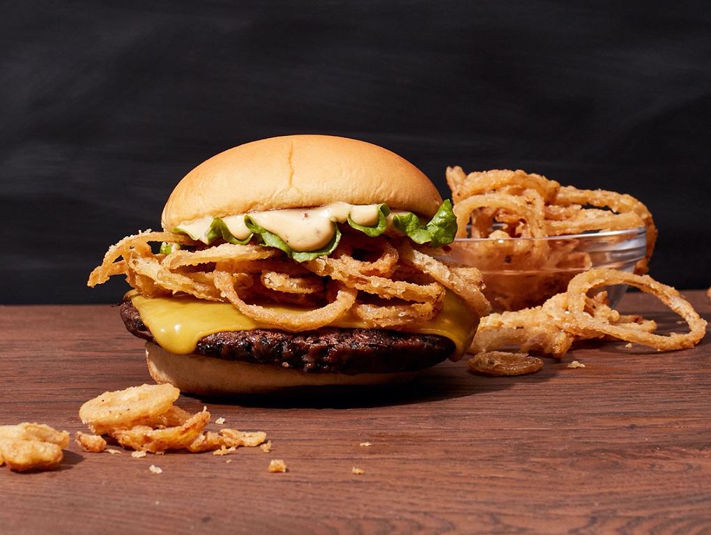 Shake Shack & Chef Neil Rankin Unveil their Vegan Crispy Shallot Burger