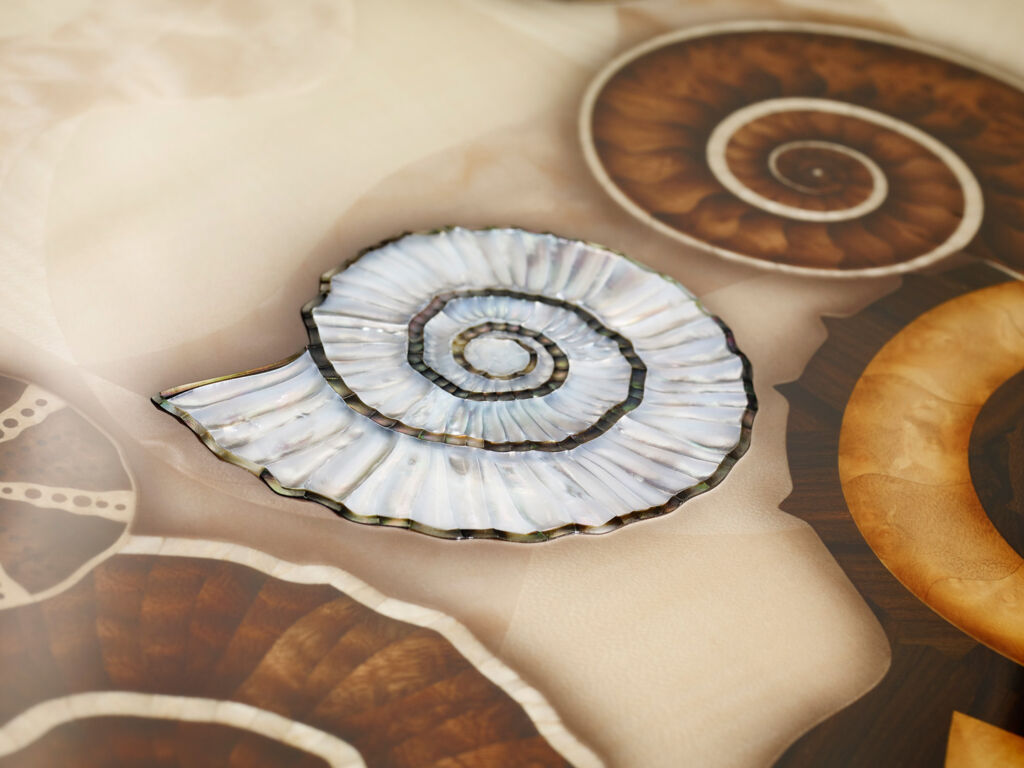 Silverlining Furniture Ammonite Shore from the Provenance Collection
