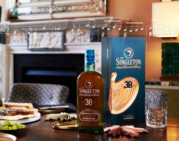 The Singleton 38 Year Old Produces a Symphony on a Malaysian's Palate