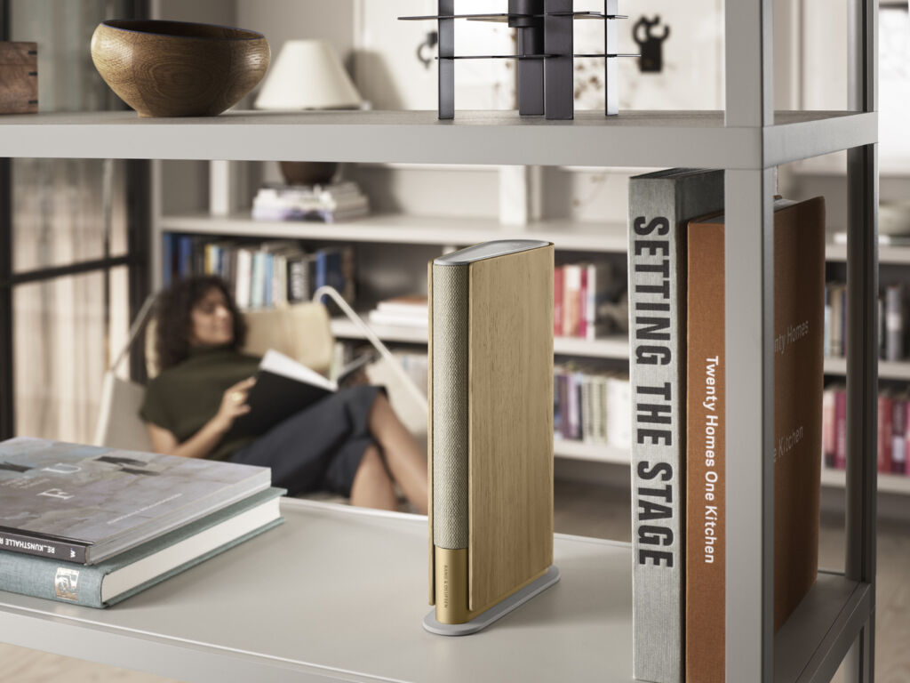 The Beosound Emerge Speaker By Bang & Olufsen and Designer Benjamin Hubert