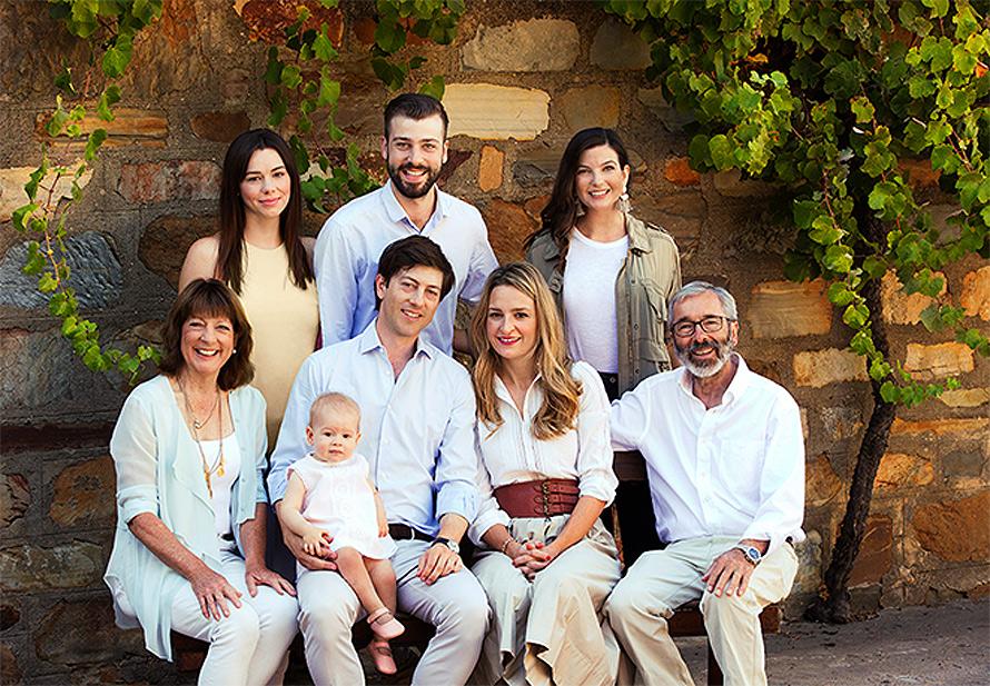 The Henschke family in Australia