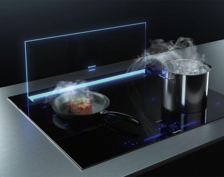 The New GlassdraftAir from Siemens Brings a lot of Wow to the Kitchen