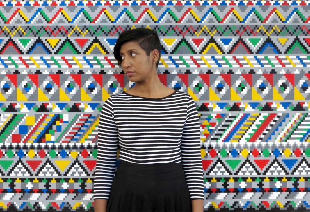 The artist Faatimah Mohamed-Luke