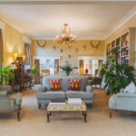 The living room where guests can enjoy the home-from-home experience