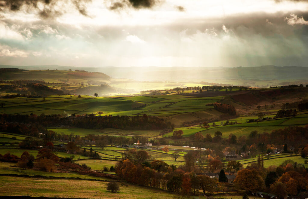 The incredible view the Peak District offers you