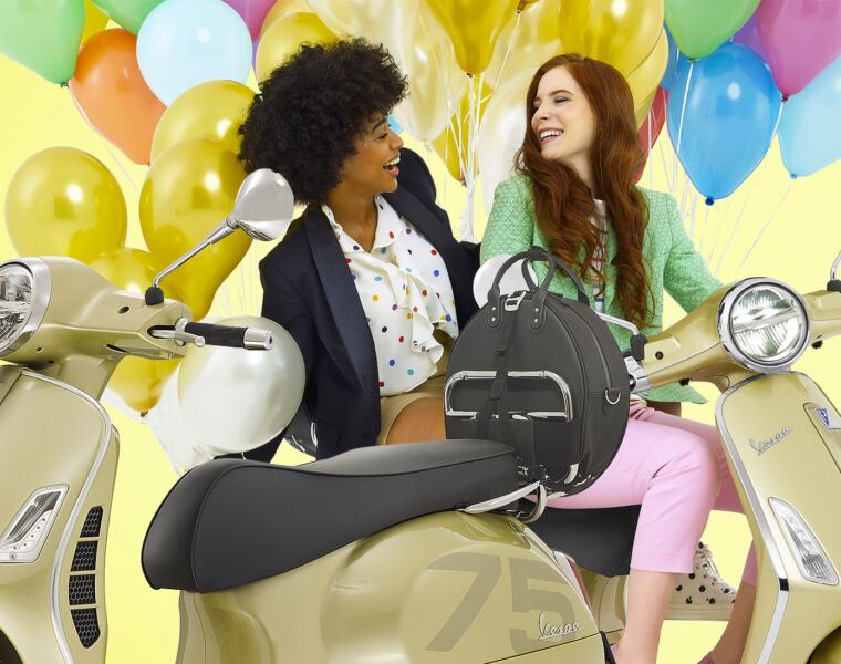 It's Vespa's 75th, and they're Celebrating with Some Special Edition Models