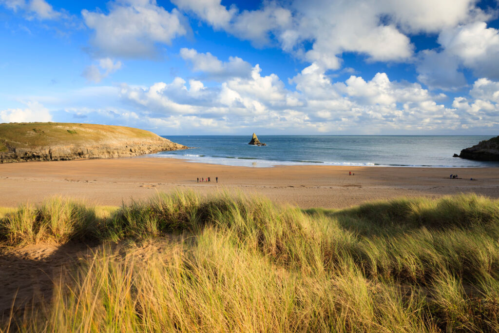 A beautiful view of the Penbrokeshire coast. Photo courtesy of the Pembrokeshire Coast National Park Authority.