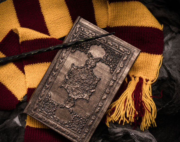 Another passion investment would be this very rare first edition Harry Potter Book