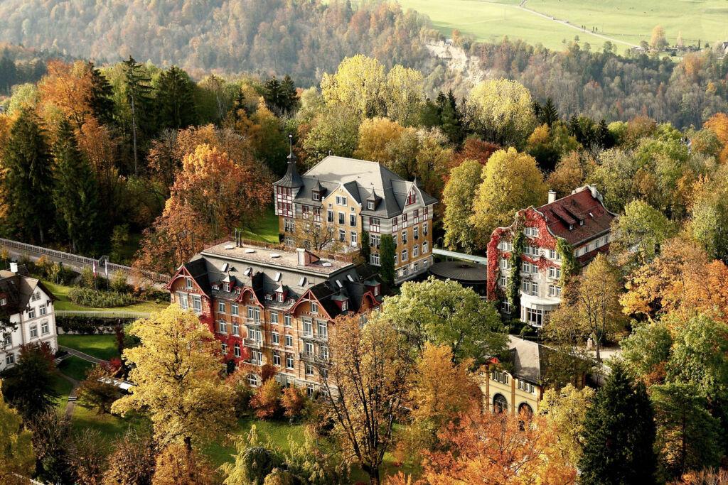 Aerial view of the Institut auf dem Rosenberg