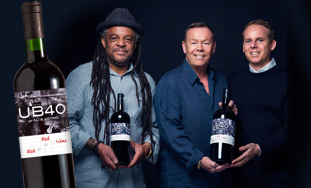 Ali Campbell, Astro and Jerome Jacober, founder of Eminent Life.