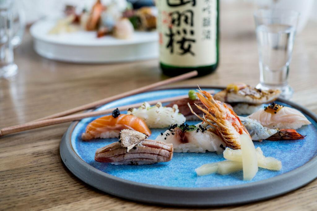 The Japanese sharing platter