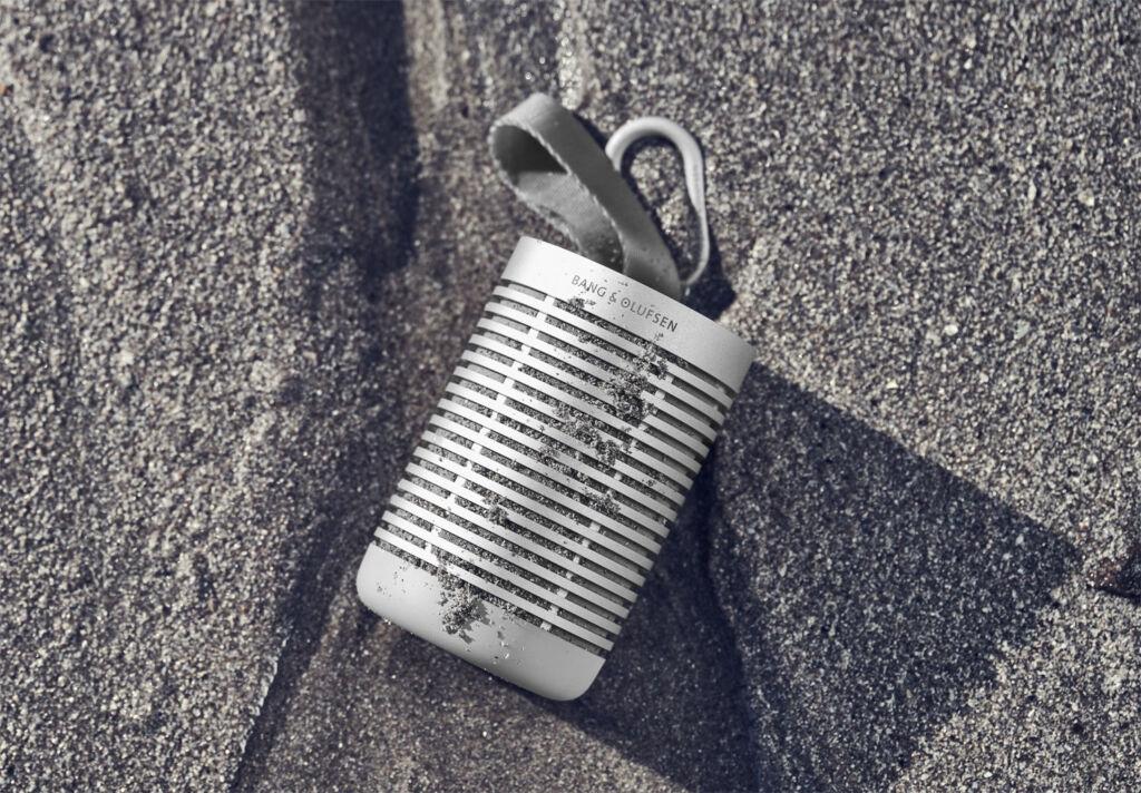 Beosound Explore qith its Type 2 anodised aluminium exterior
