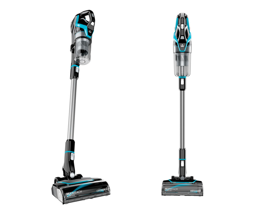 Image of the MultiReach Active 21V Cordless Vaccum on a white background