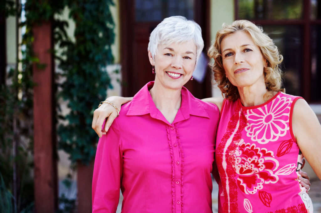 Two women aged over 50