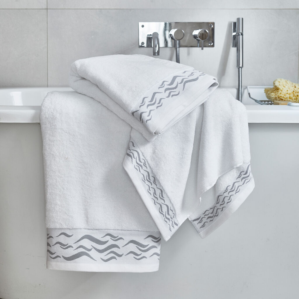 Collingwood and Hay wave collection luxury towels