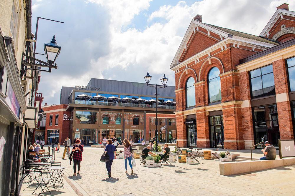 The Exchange Square in Cornhill Quarter