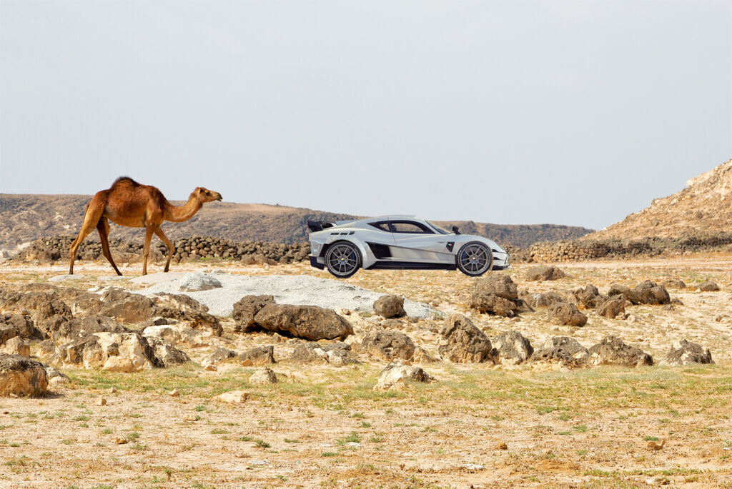 Evantra MBS ONE 1111 HP, A New Hypercar Born from Saudi Arabian Minds