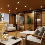 No expense has been spared with regards to the LUCA DINI Design & Architecture designed interior