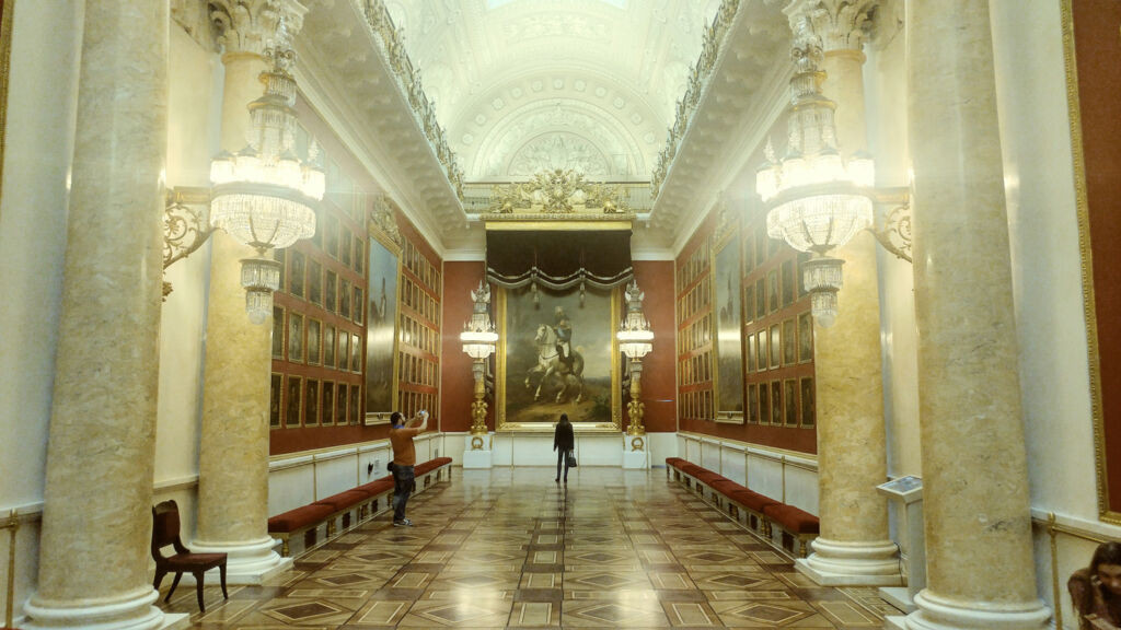 Inside the Hermitage Museum in 2018