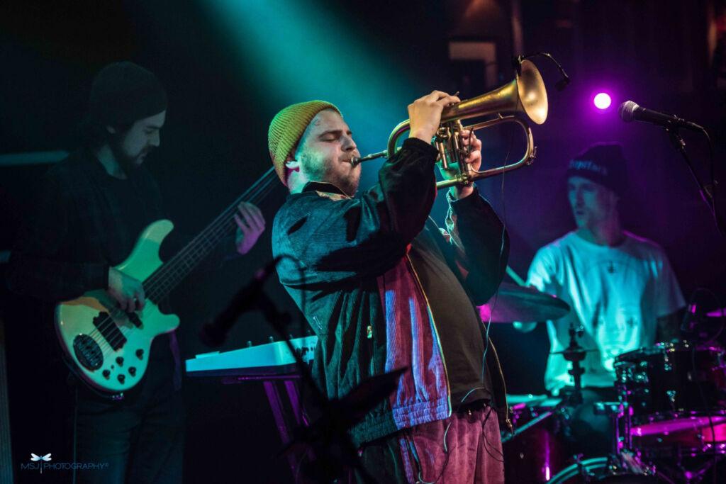 Jackson Maothod playing at Ronnie Scott's. photo by Monika S Jakuboska.