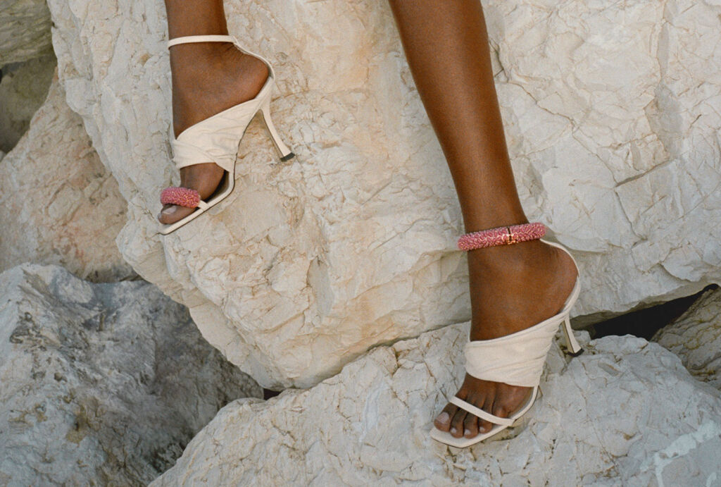 The Ocean sandals from the 2021 collection