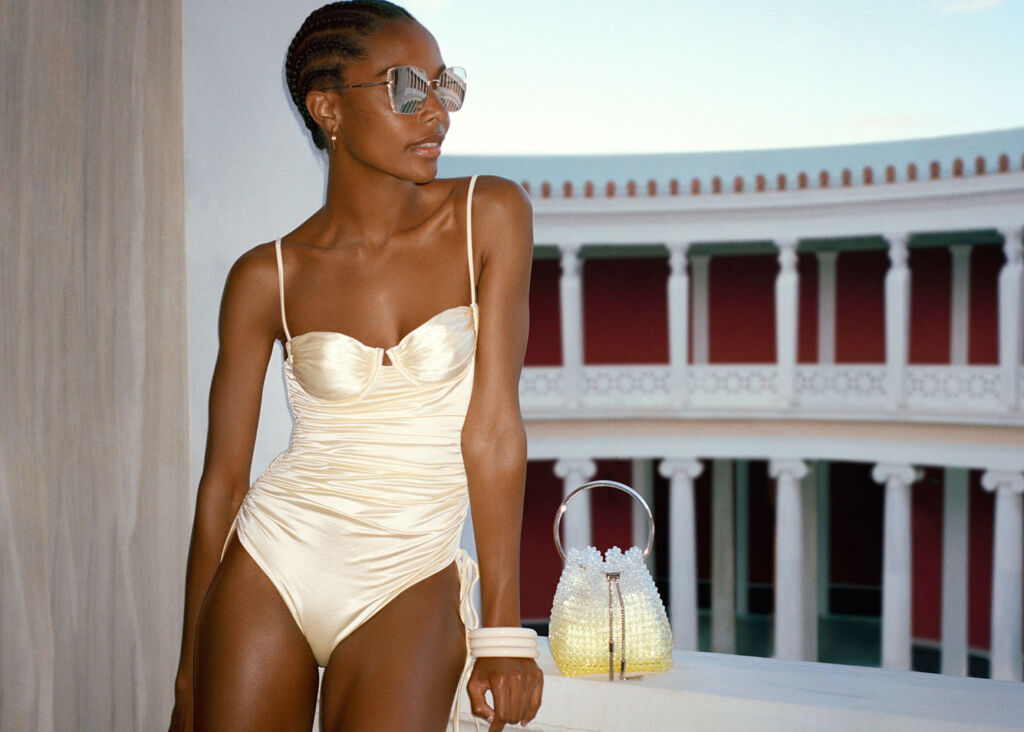 It's Sun-Kissed Glamour for Jimmy Choo's High Summer 2021 Collection