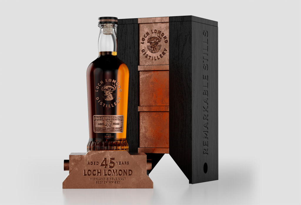 Loch Lomond Whiskies Releases a 45 Year Old Super-Premium Expression