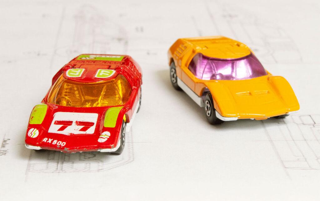 Matchbox Red Streaker version of the Mazda RX500