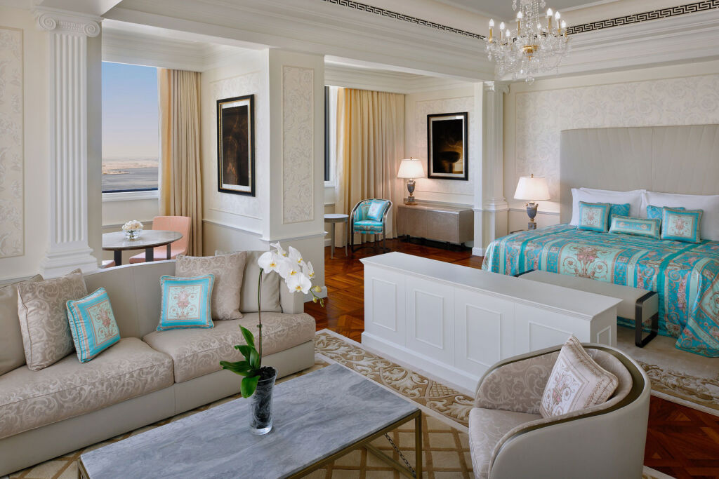 Inside the Imperial suite at the Palazzo Versace
