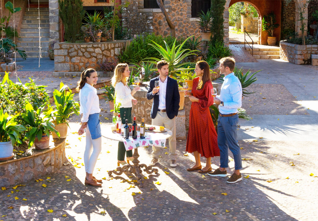 People at the annual Wine Days Majorca festival