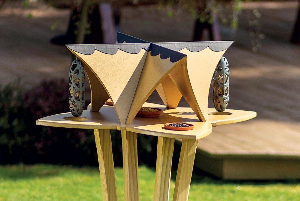 Perch & Settle's Extraordinary New Bird Table is Art for the Garden 3