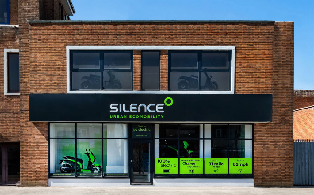 Solihull, the first of the Silence stores to open in the UK