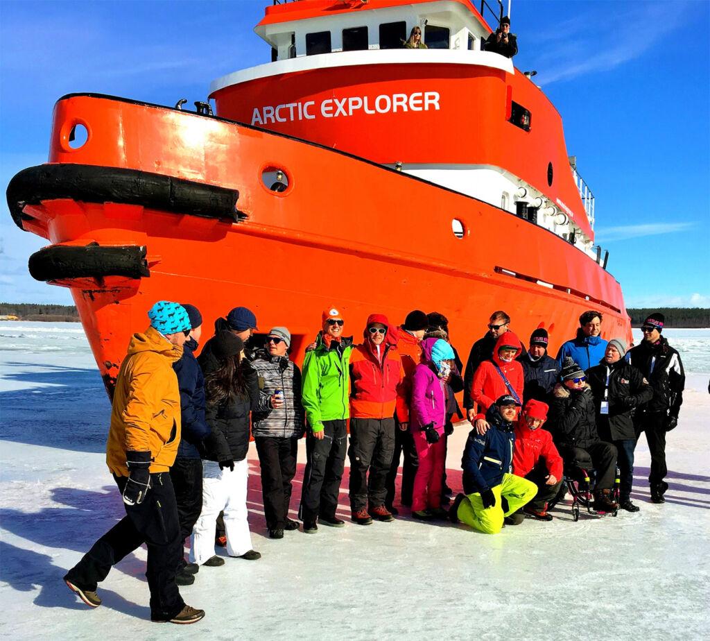 The Arctic Explorer Ice Breaker