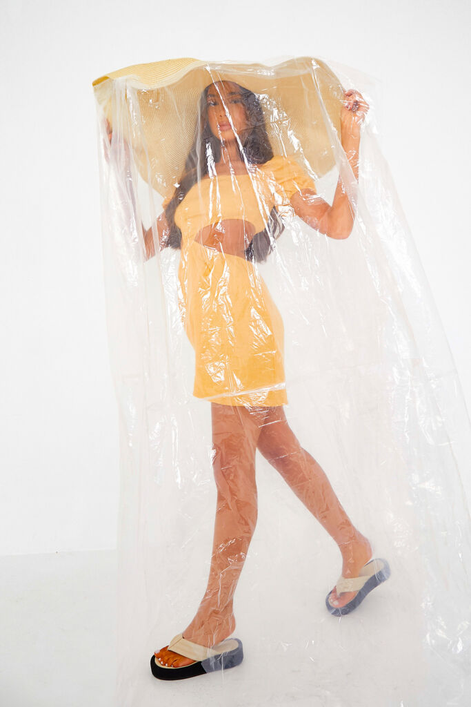 Model wearing the Honcho