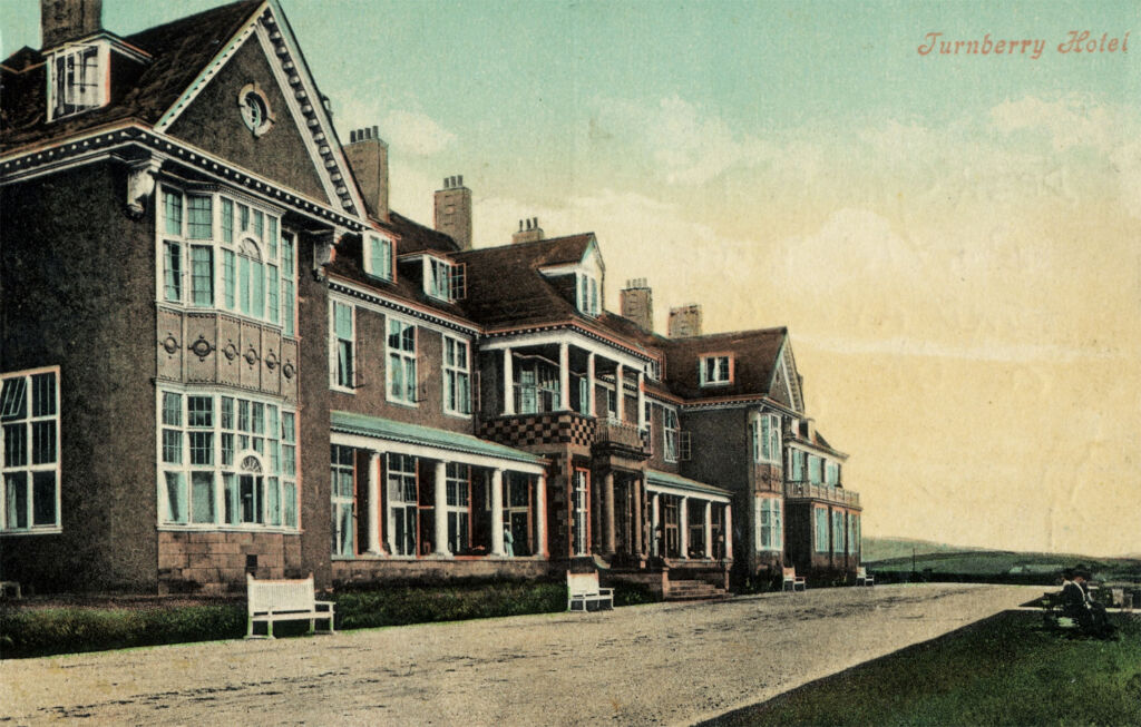 The Turnberry Hotel in the 1930s