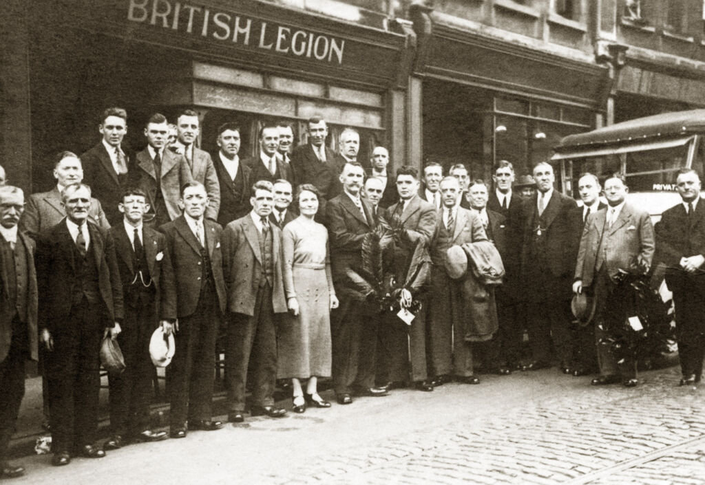 The early days of the Royal British Legion