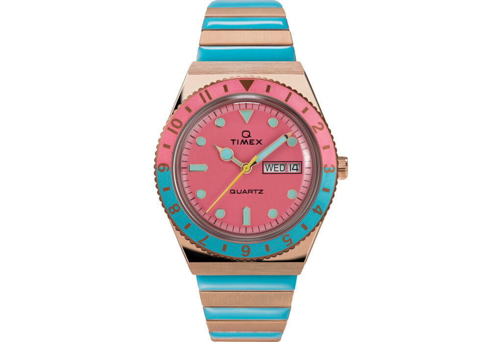 The updated, very colourful Malibu watch which is new for 2021