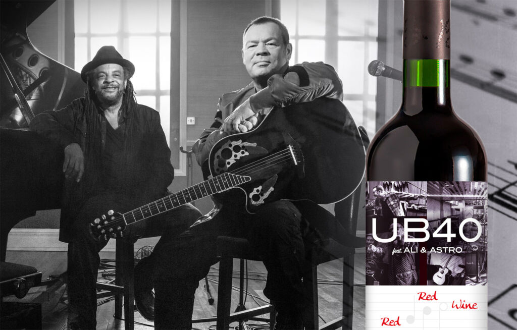 UB40's Drinkable Red Red Wine Will be Another Hit for the Band in 2021
