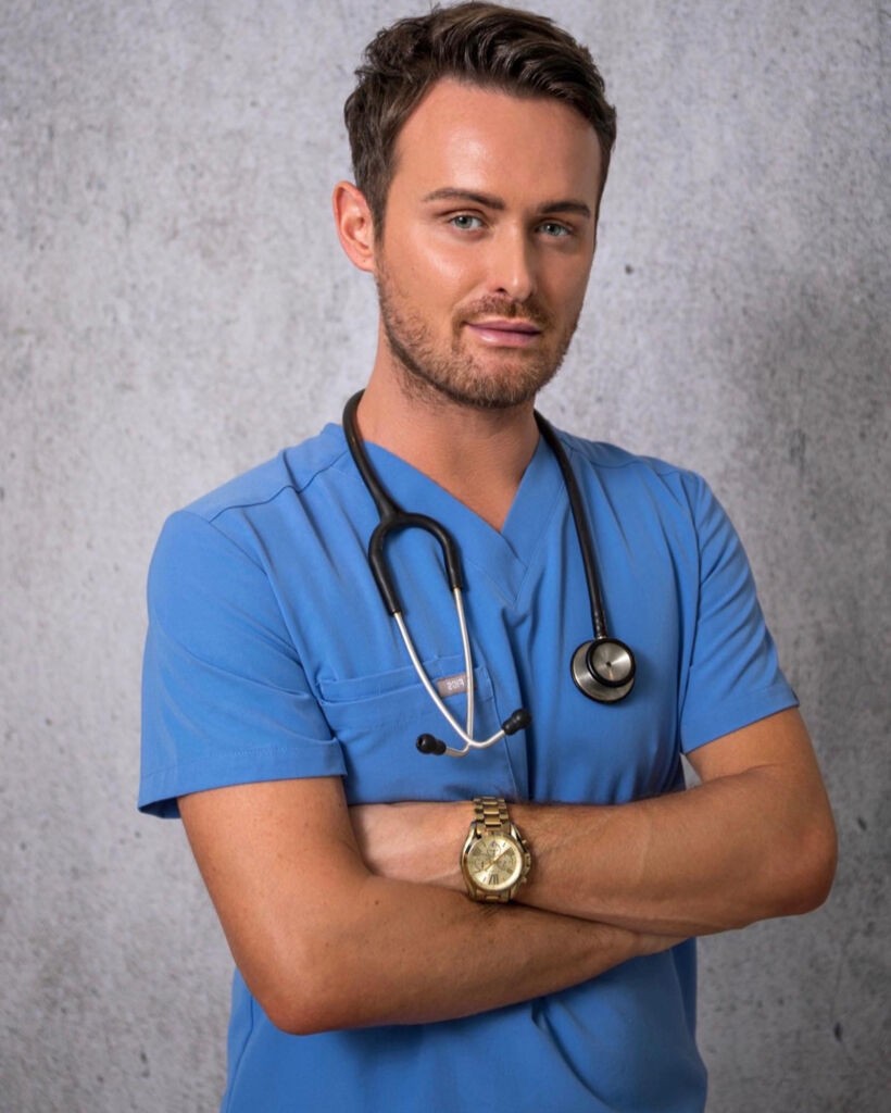 William Foley in the clinic