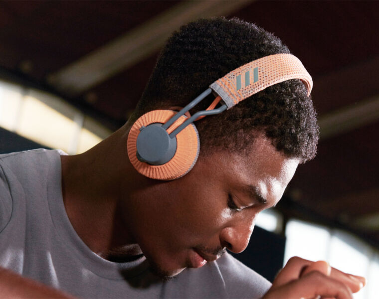 Move To The Beat With Adidas RPT-01 On-Air Sports Headphones 1