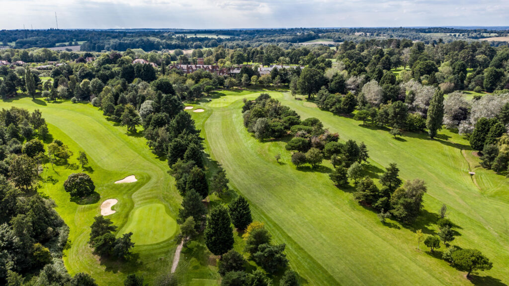 Aerial view of Essendon Country Club