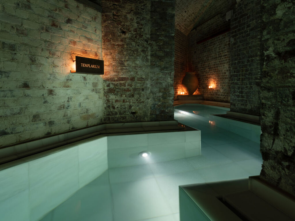 One of the historic inspired baths