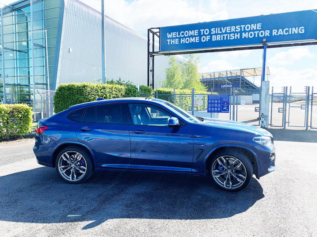 For his road test Jeremy Webb took the BMW X4 M40d to Silverstone