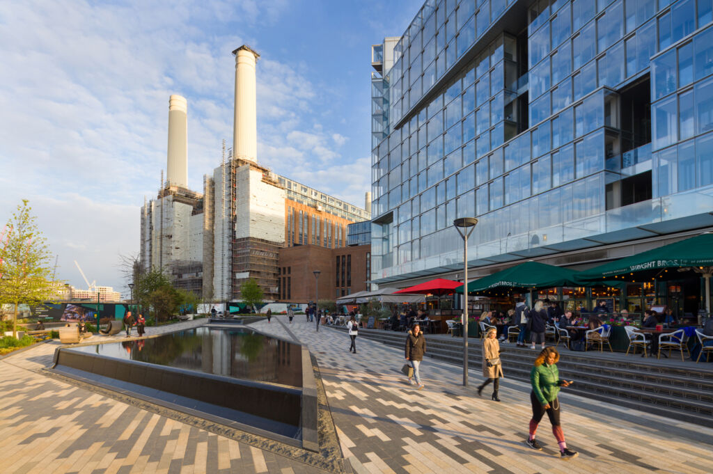 Battersea Power Station - Circus West Village - Photo by Brendan Bell.