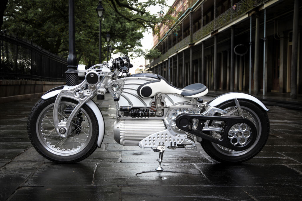 Curtiss Motorcycles Groundbreaking 'The One' is Now Available to Order