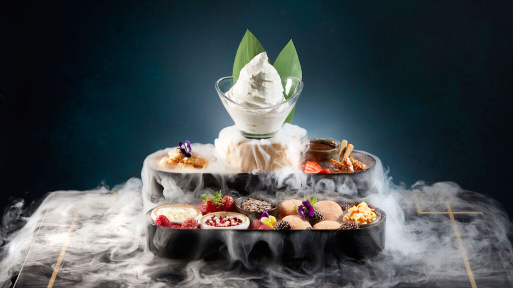 One of the spectacular desserts guests will be able to enjoy