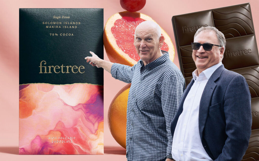The founders of Firetree Martyn O'Dare [L] and David Zulman [R].