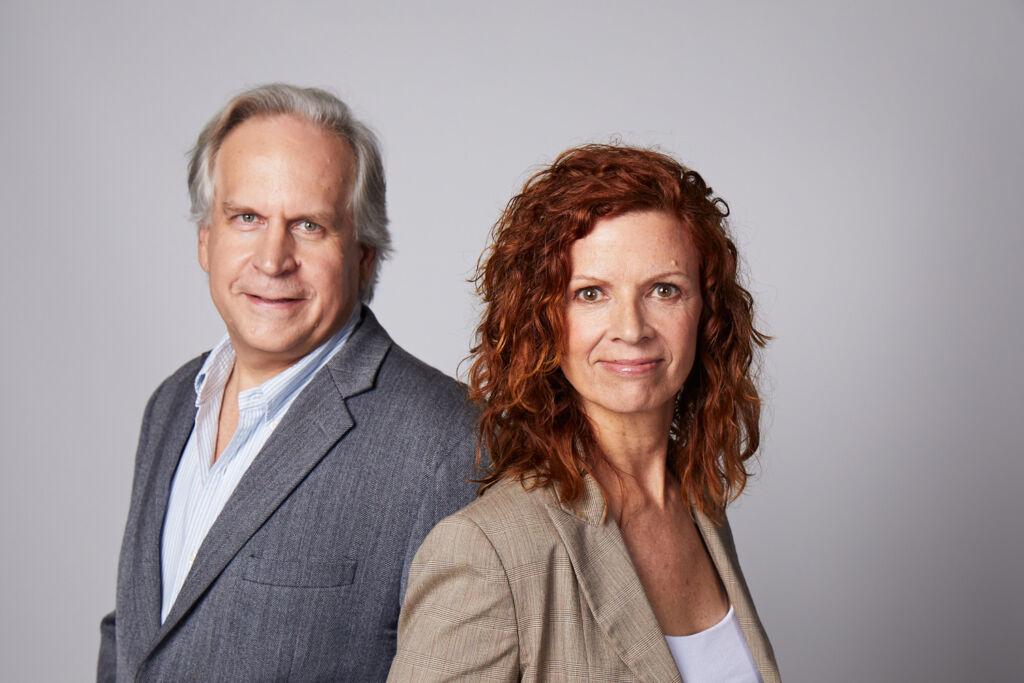 Jane Poynter and Taber Maccallum