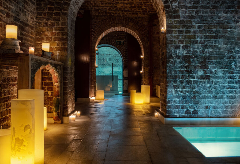 AIRE Ancient Baths Luxury Wellness Experience in London's Covent Garden