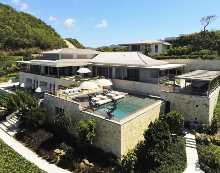 What to Expect at Pearns Bay House, Antigua's Newest Luxury Offering